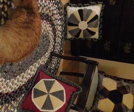 雷奥洛洛羊毛布编织地毯