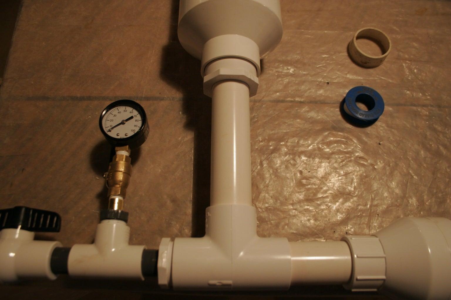 Optional Pressure Gauge Assembly