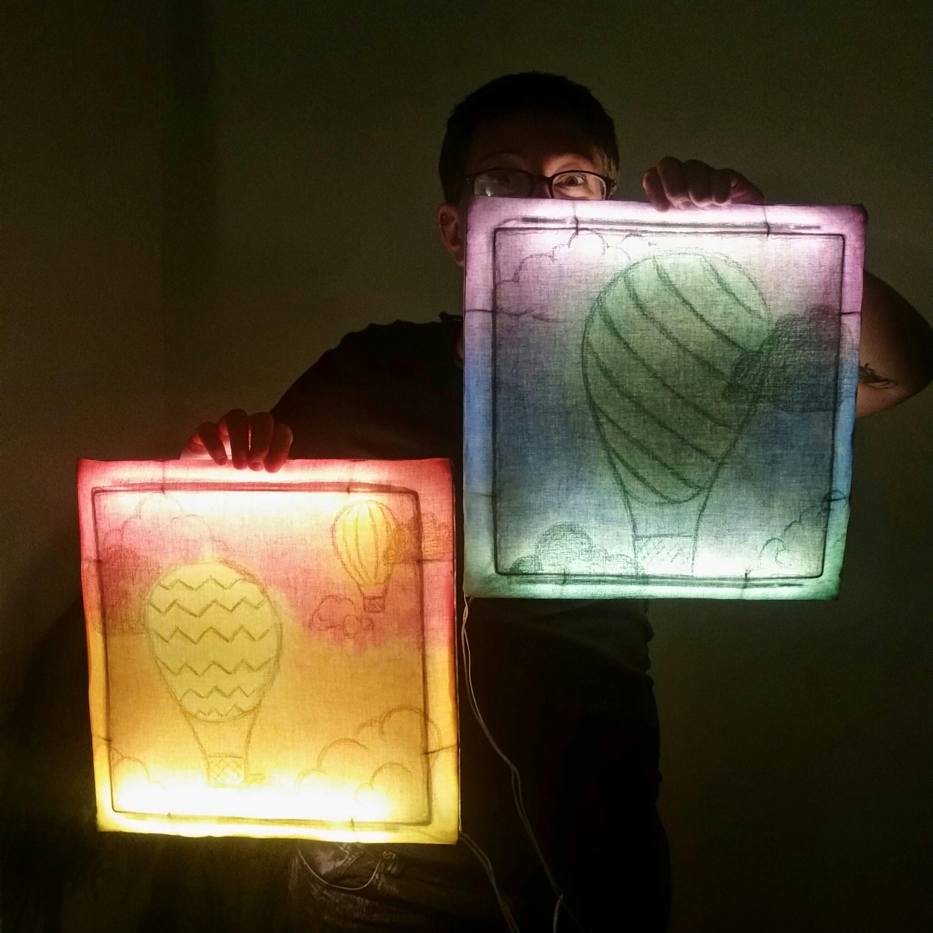 Bare Bones Batik Light Up Wall Art 5 Steps With Pictures Instructables