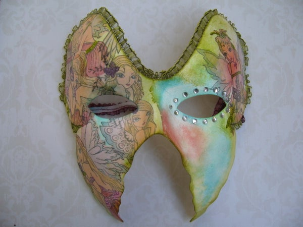 Decorated Carnival Mask