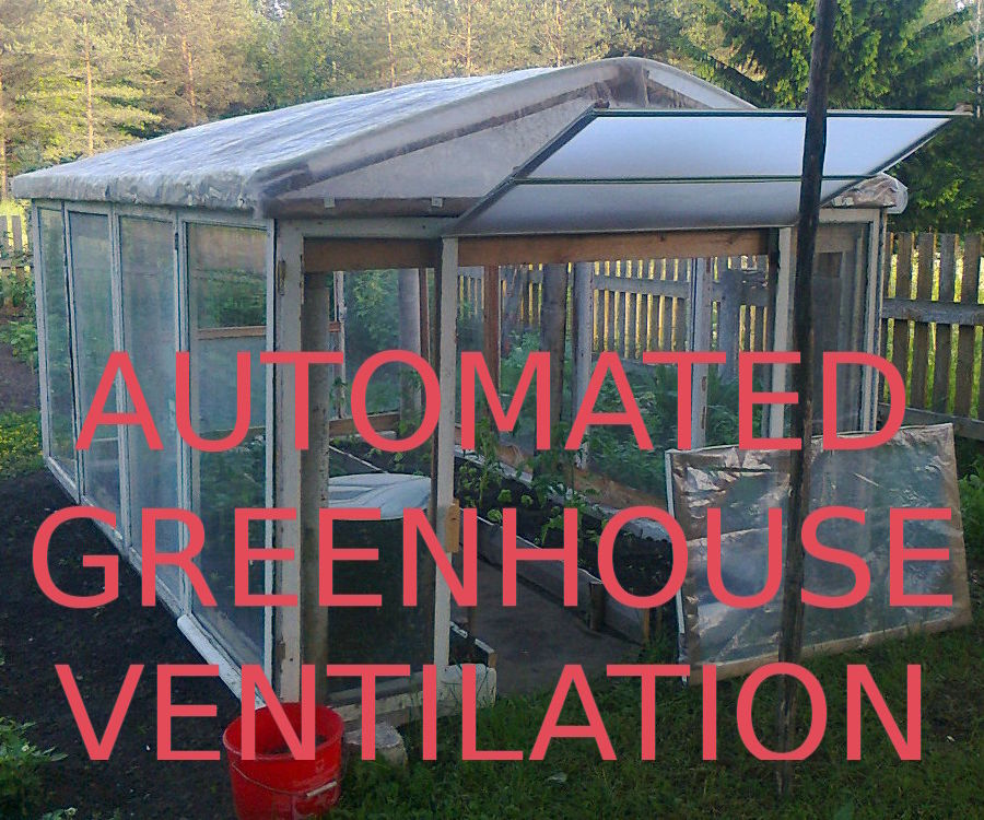 Automated Greenhouse Ventilation