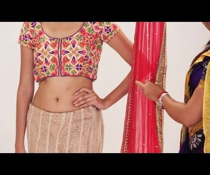 How To Wear Lehenga Saree To Look Slim Without Draping |Gorgeous Way To Wear Lehenga Dupatta Quickly & Easily