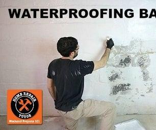 Waterproofing Basement Walls With DRYLOK Paint