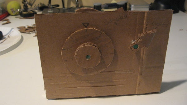 How to Build a Cardboard Combination Padlock
