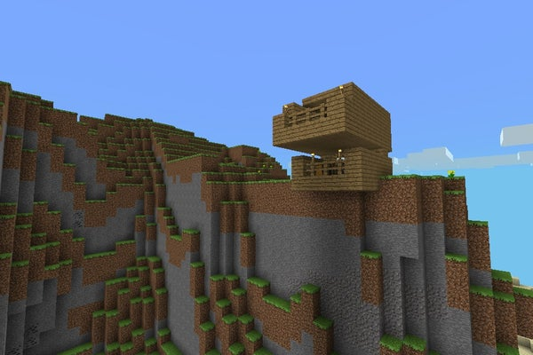 Good Cliff Top House