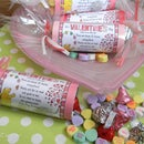 VALENTINE TREAT TUBES & SNACK POEM