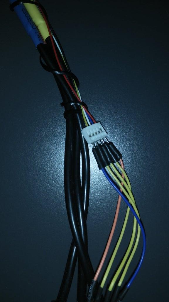 Motor Sensor to Vesc