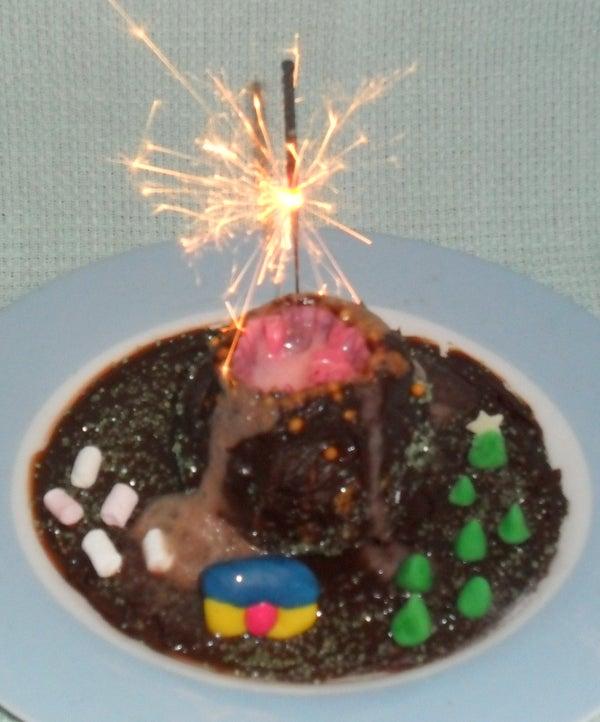 Gluten-free Chocolate Volcano Cupcakes