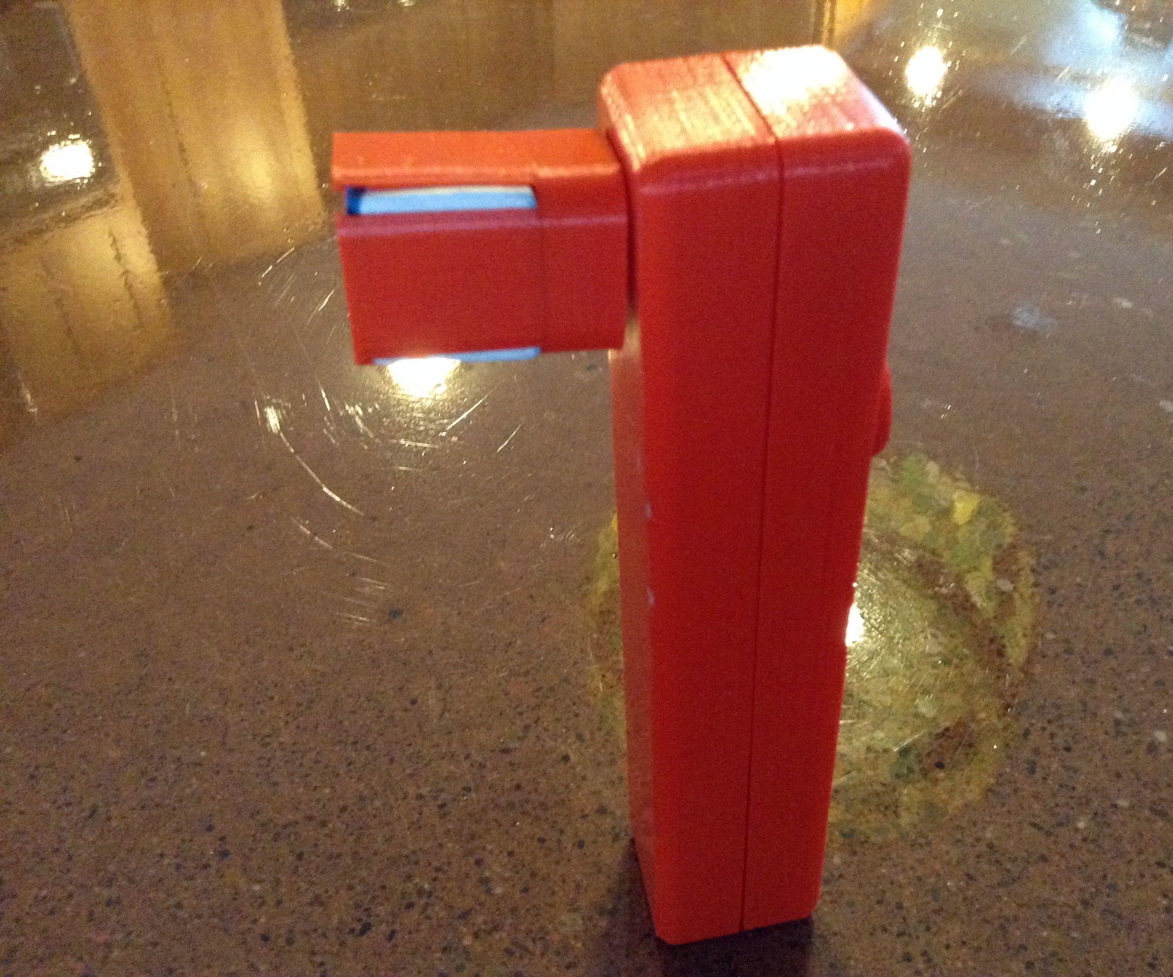 3D Printed Cue Chalking Tool