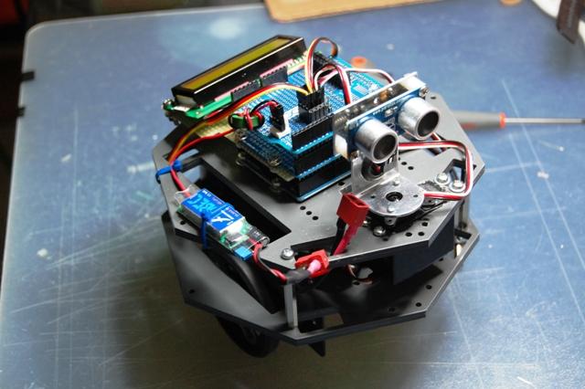 My Arduino Ping Display Robot