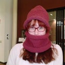 Triple Fast Knit Hat and Cowl Set