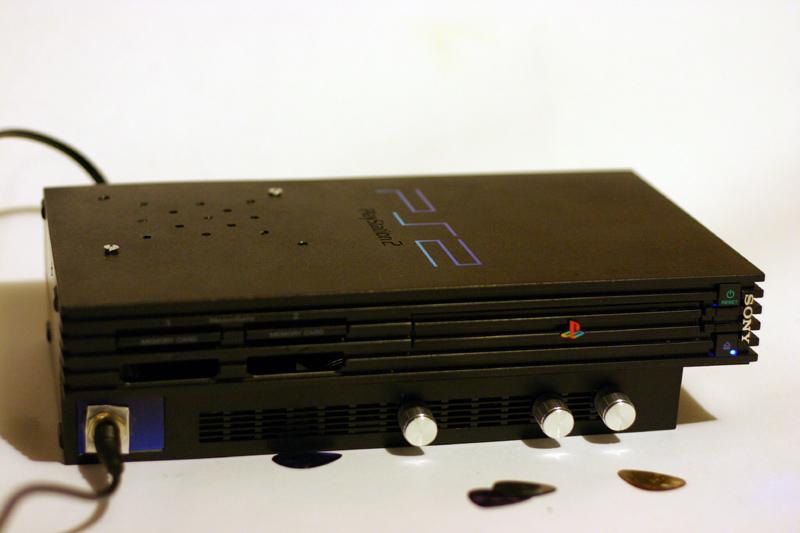 Playstation 2 Guitar Amp