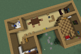 How To Make A Big Fancy House In Minecraft 6 Steps Instructables