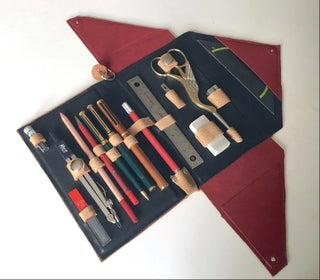 no sew leather pencil case 8 steps
