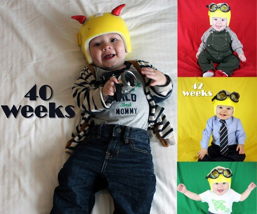 Weekly Baby Photo Project