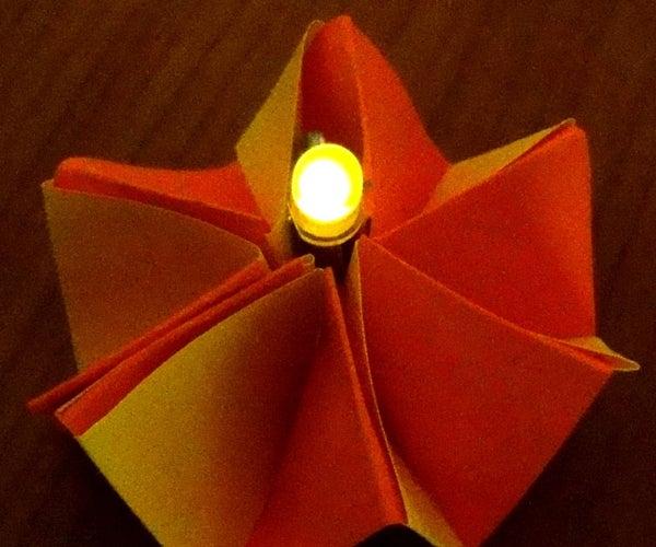 Glowing Paper Flower