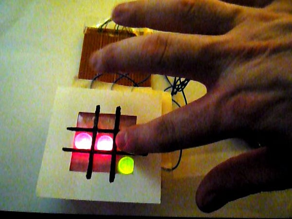 Arduino and Touchpad Tic Tac Toe