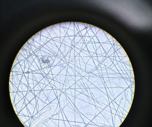 Electrospinning With Cigarette Filter Tip and Liquid Glue