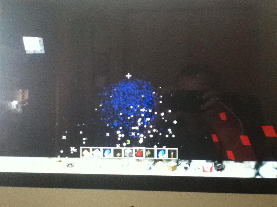 Minecraft Fire Works