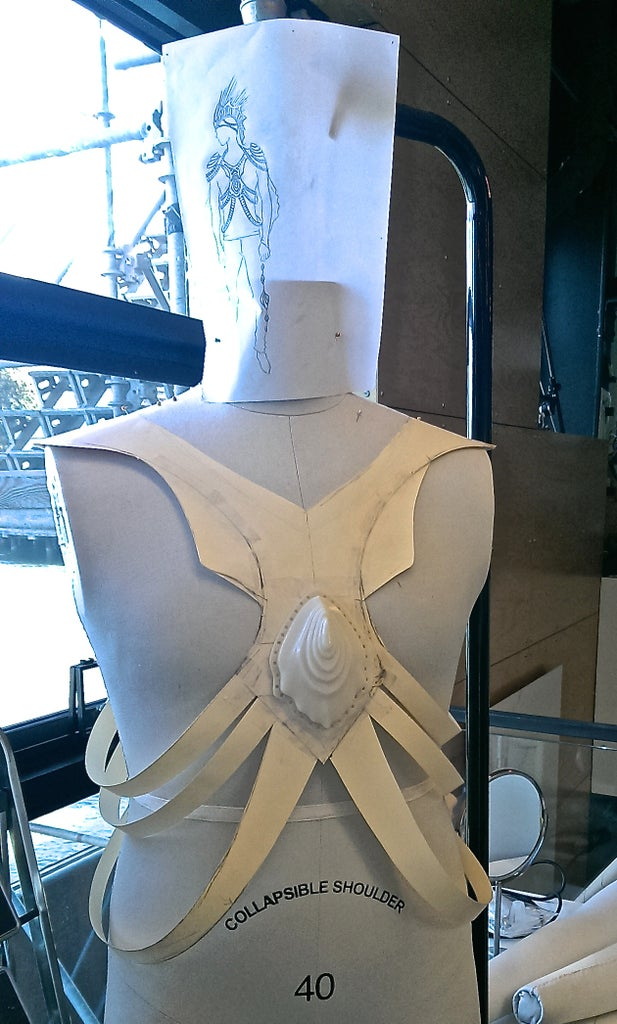 Mocking Up the Chest Harness