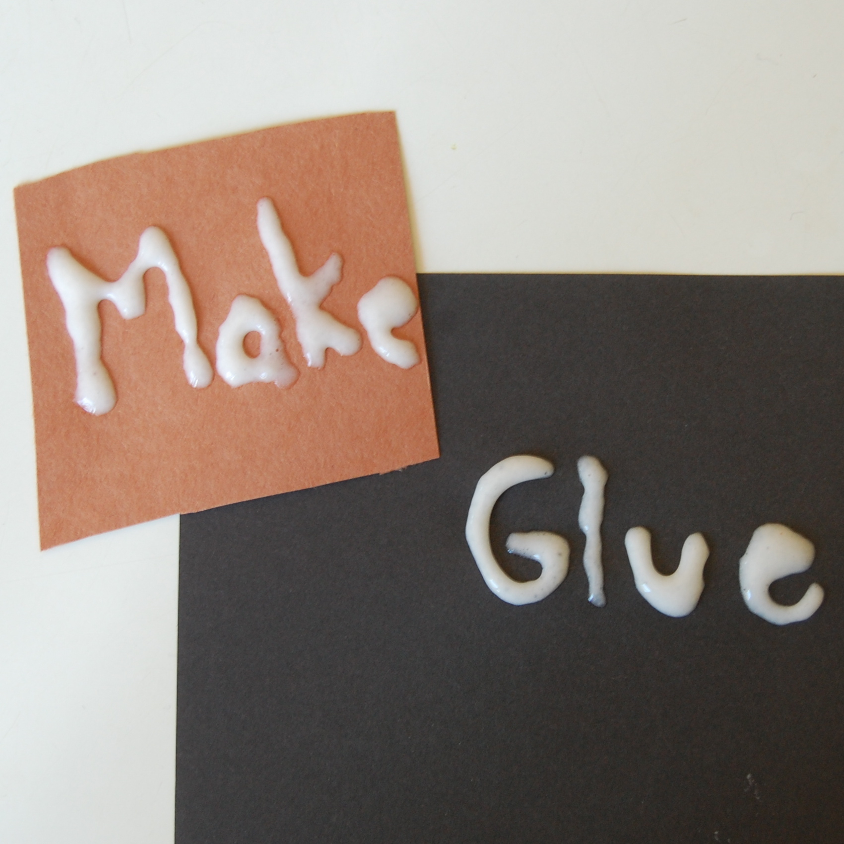 Make your own glue