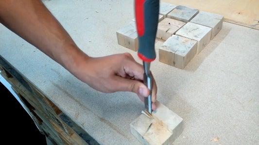 Wood Blocks in Progress