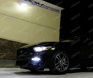 Install Ford Mustang LED DRL Sequential Turn Signal Lights