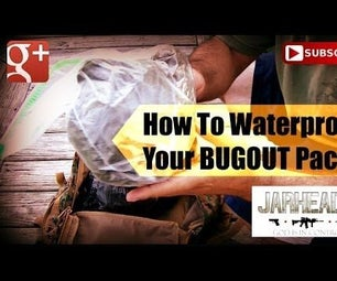 Waterproof Your Bug Out Bag