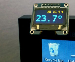 OLED Temperature and Humidity Meter