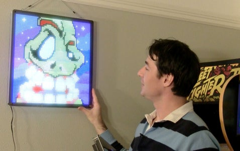 Make a Massive 4096 LED Display for Retro Pixel Art