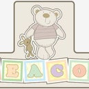 I Love My Bear 3D Childrens Door Sign