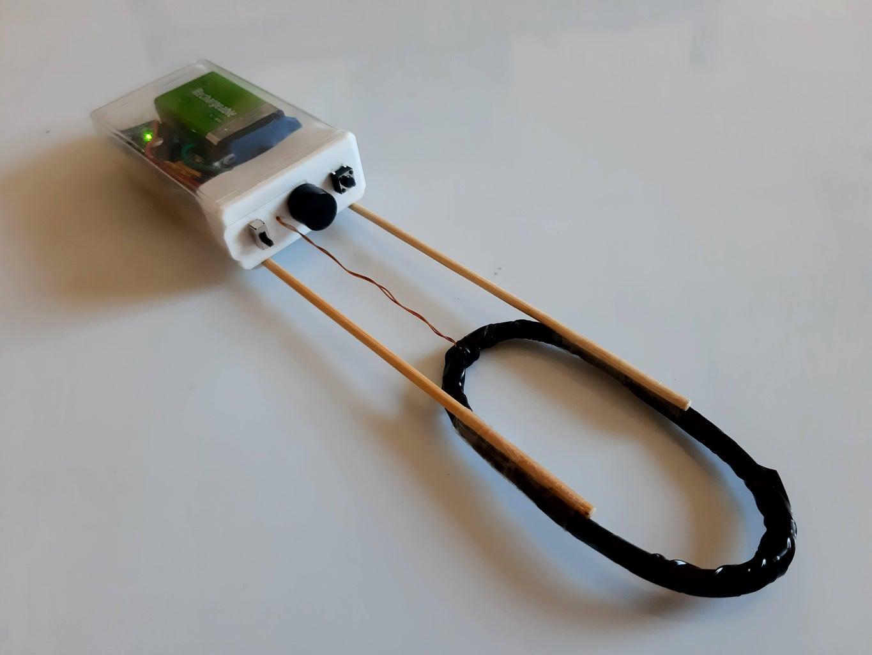 Minimal Arduino Metal Detector