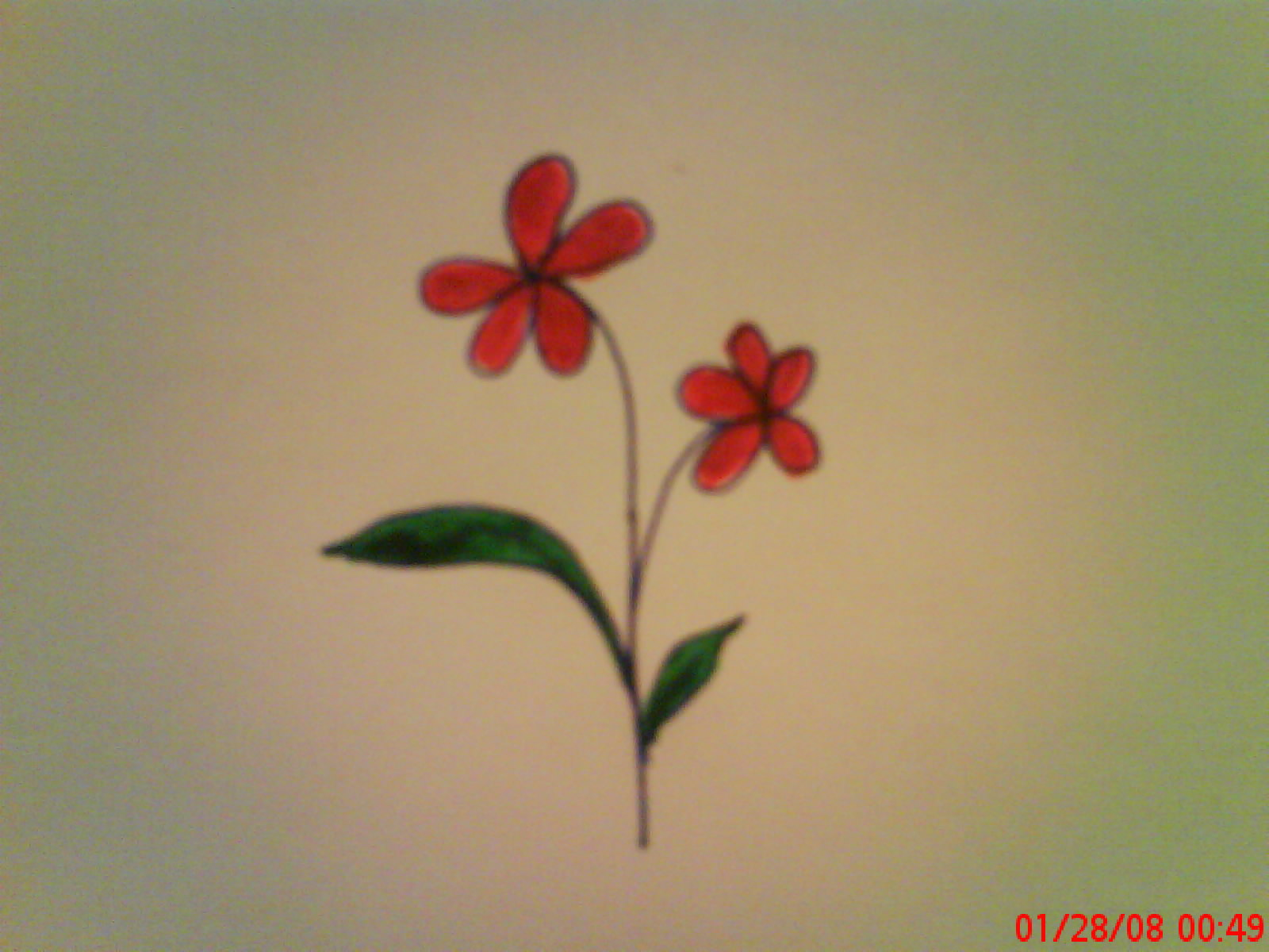 How To Draw A Flower 3 Steps With Pictures Instructables