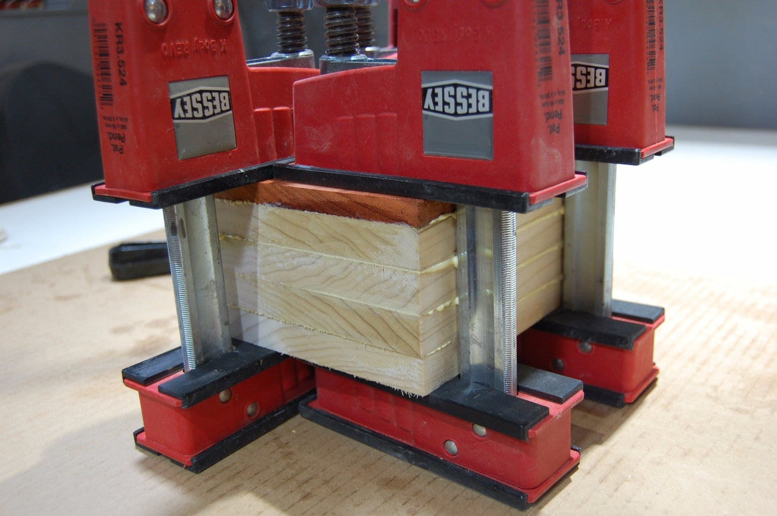 Milling and Gluing Up the Blank