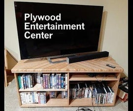 Plywood Entertainment Center