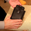 Wet Formed Leather Cell Phone Case