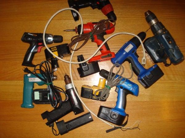 Cordless Drill Repair - Add a Cord