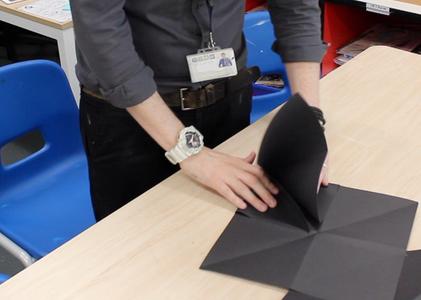 Step 6: Folding the Sketchbook.