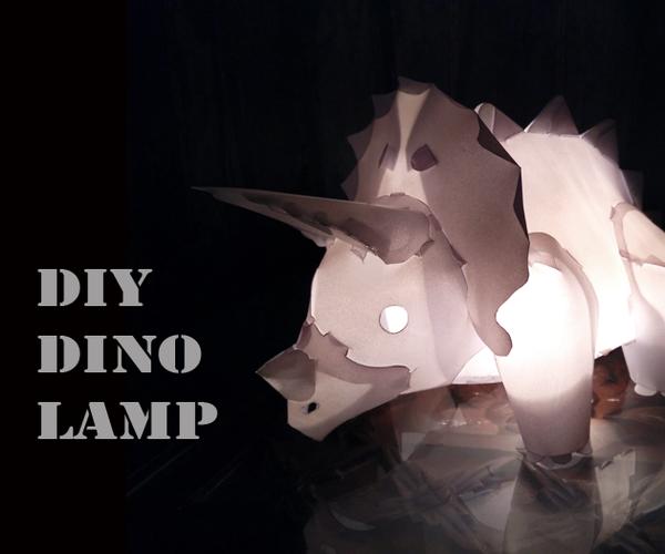 Dino Lamp