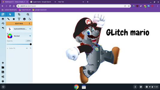 How to Make a Custom Mario Skin on Sketchpad 5.1