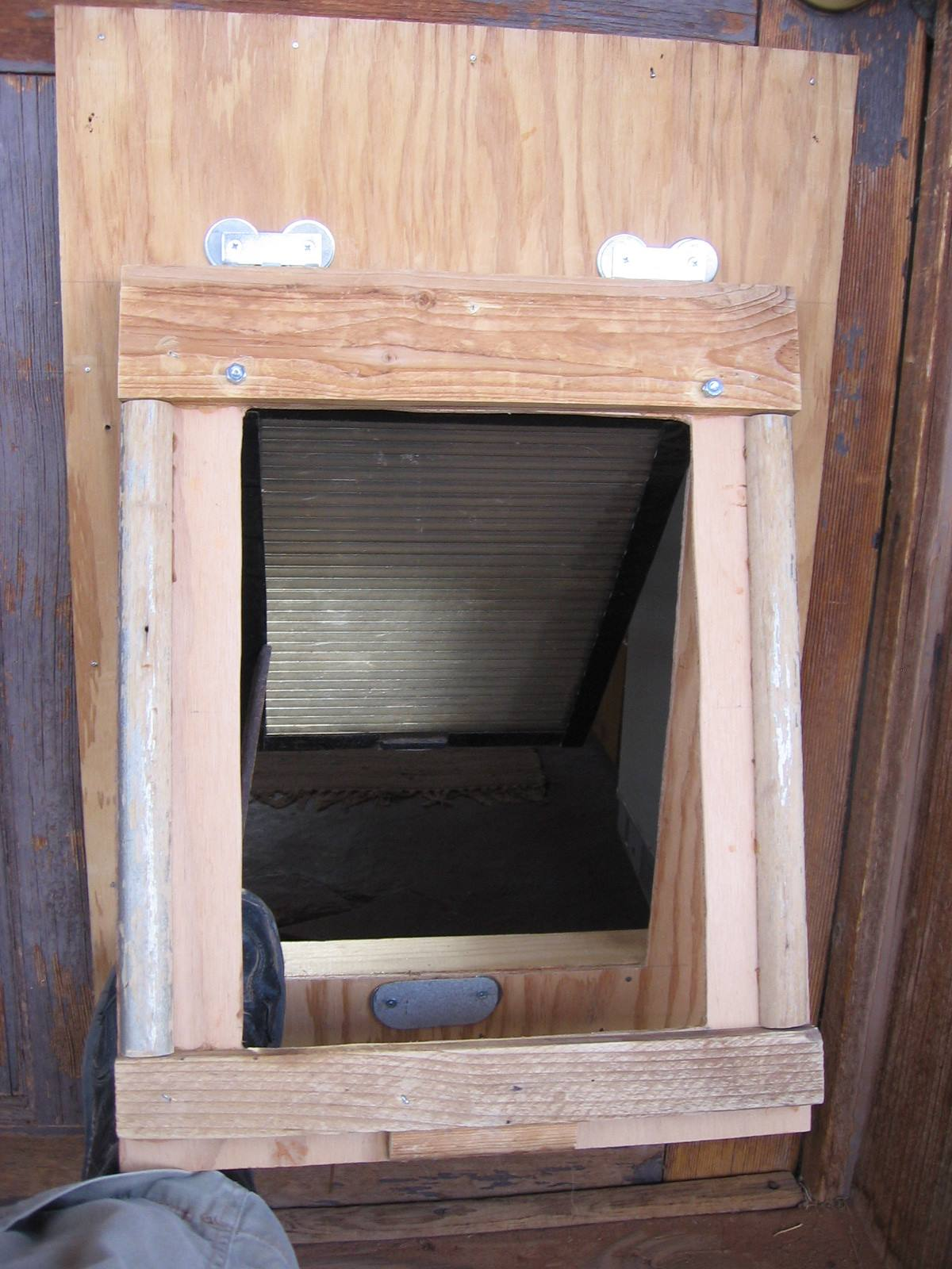 A Dog Door: The Two-Flap Solution