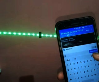 Control Ws2812 Neopixel LED STRIP Over Bluetooth Using Arduino Uno