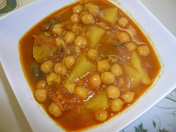 Garbanzo (chickpea) Hearty Soup With Potatoes