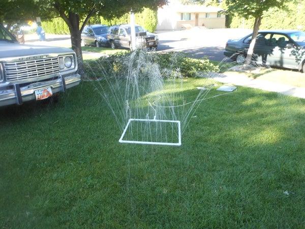 "How to Make a ""Run Through the Sprinkler"" Sprinkler"