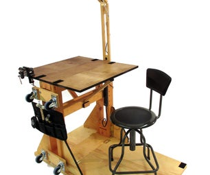 Maker Station: the Portable Reconfigurable Work Station for All Makers