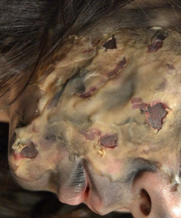 Fake Burned Skin