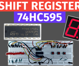 74HC595 Shift Register IC Insight and Working