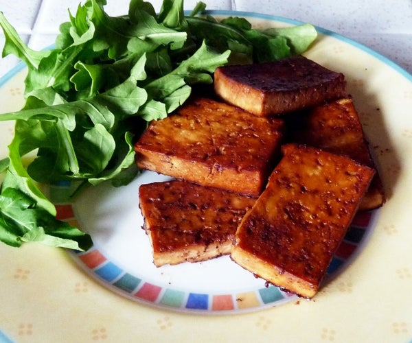 ​Savory Marinated Tofu
