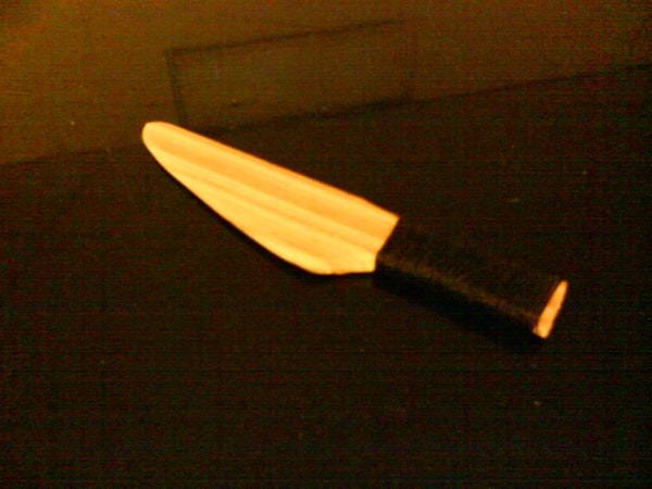 How to Carve a Wooden Knife