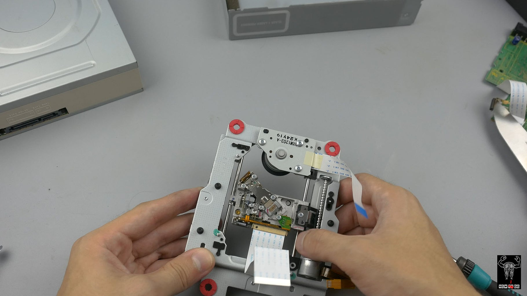 Taking Apart the DVD Drives